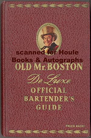 Old Mr. Boston De Luxe Official Bartender's: COTTON, Leo, compiler
