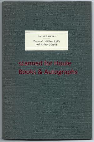 Frederick William Rolfe & Artists' Models: Weeks, Donald