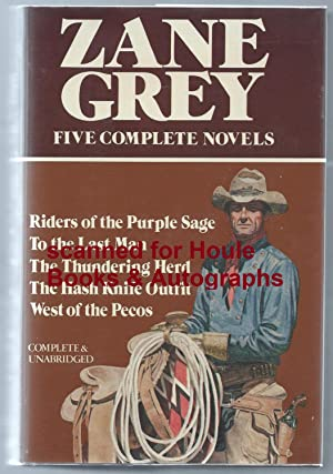 Five Complete Novels: Riders of the Purple: Grey, Zane