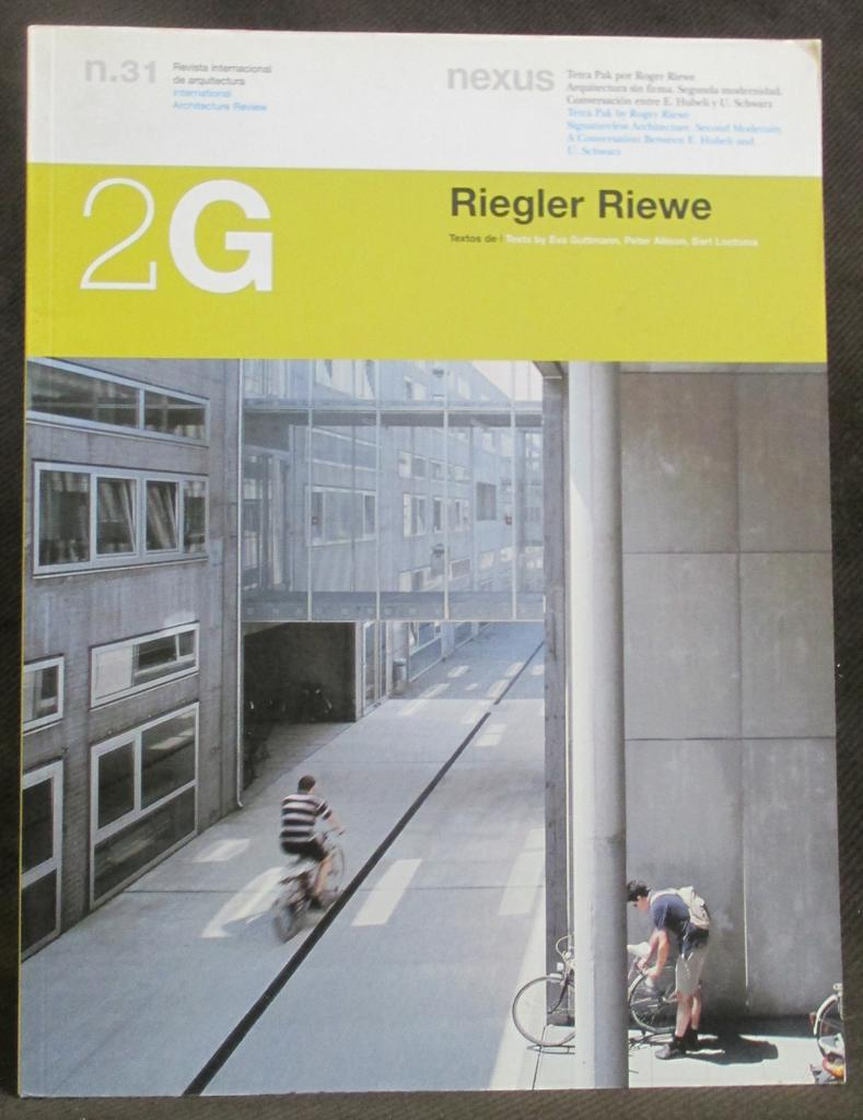2g 31 riegler riewe 2g international architecture review 31