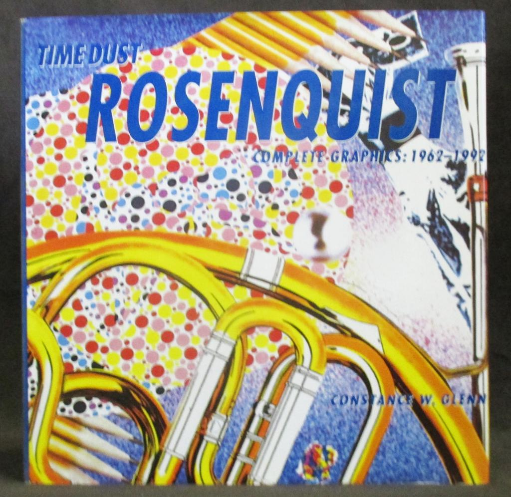 james rosenquist time dust complete graphics 1962 1992