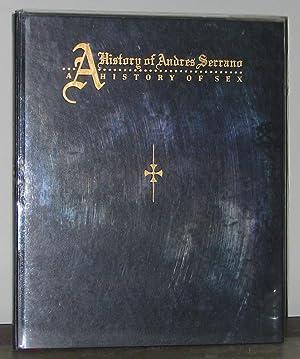 A History of Andres Serrano / A: Hollander, Xaviera