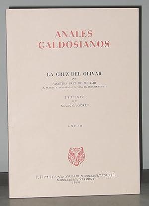 Anales Galdosianos: La Cruz del Olivar por Faustina Saez de Melgar un Modelo Literario en la Vida ...