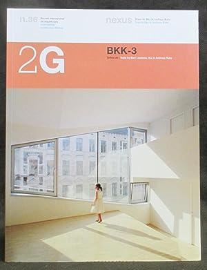 BKK-3 (n. 36 in 2G: International Architecture: Ruby, Ilka ;