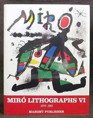 Joan Miro, Lithographs. Volume 6, 1976-1981: Cramer, Patrick