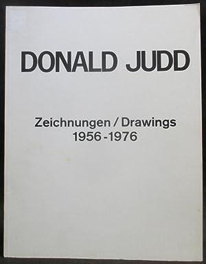 Donald Judd : Zeichnungen / Drawings 1956 - 1976: Koepplin, Dieter