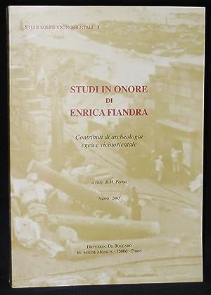Studi in Onore di Enrica Fiandra : Marcella Frangipane, Joan