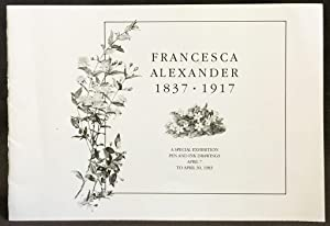 Francesca Alexander, 1837-1917: A Special Exhibition Pen and Ink Drawings