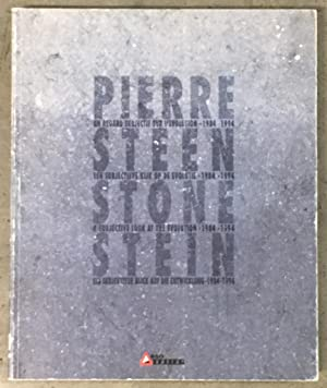 Pierre. Steen. Stone. Stein. : A Subjective: Baudson, Michel; Robert