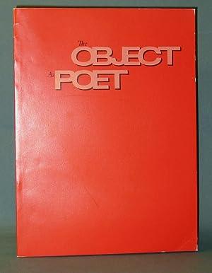 The Object as Poet: Herman, Lloyd E.; Rose Slivka