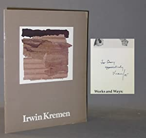 Works and Ways : Irwin Kremen