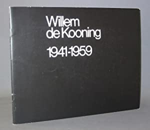 Willem de Kooning 1941-1959: Introduction by Harold