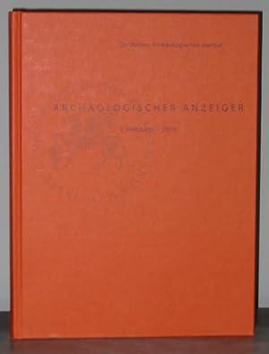 Archäologischer Anzeiger : 2. Halbband 2010: Cohen, Chaim; Maran,