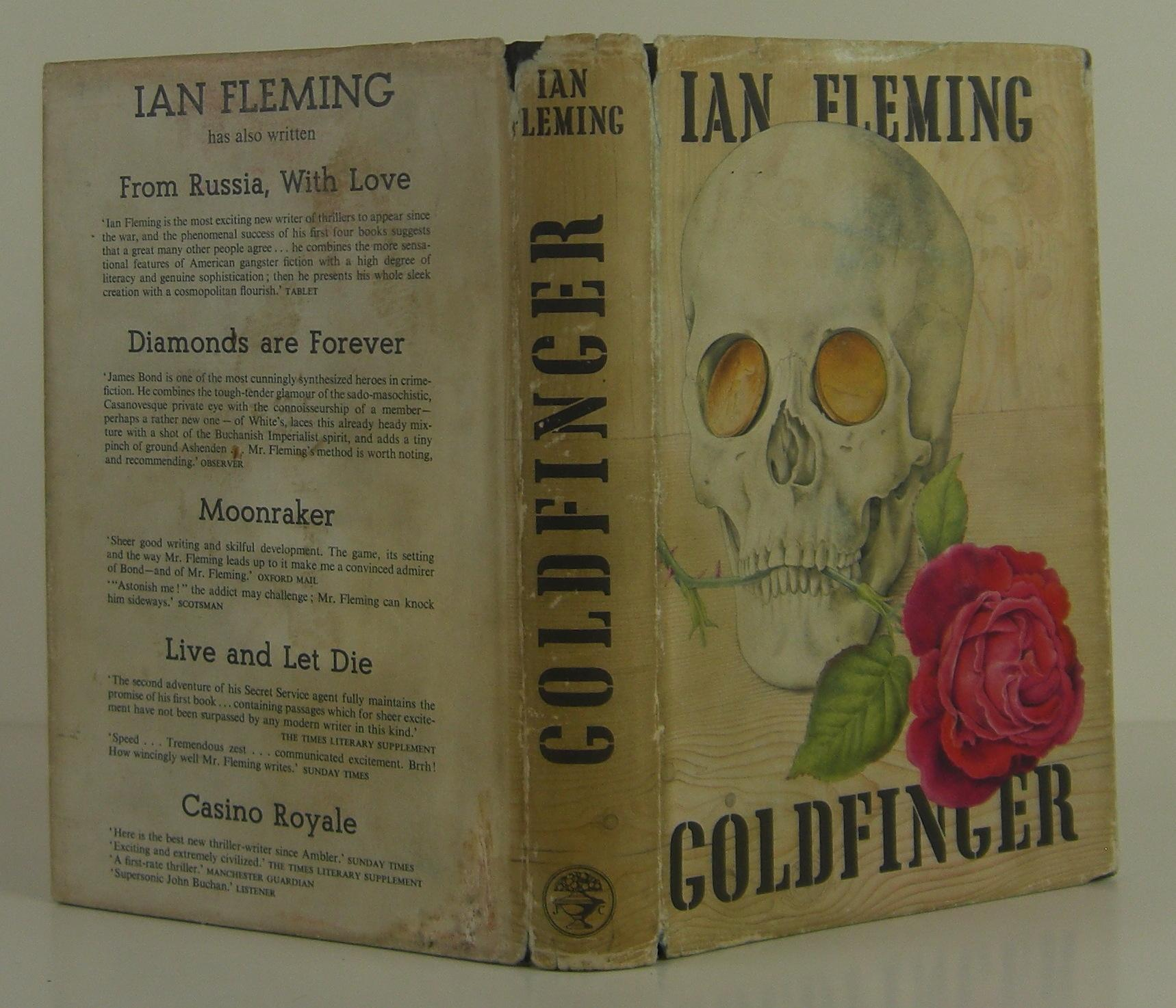 Goldfinger By Fleming, Ian: Jonathan Cape Hardcover, 1st