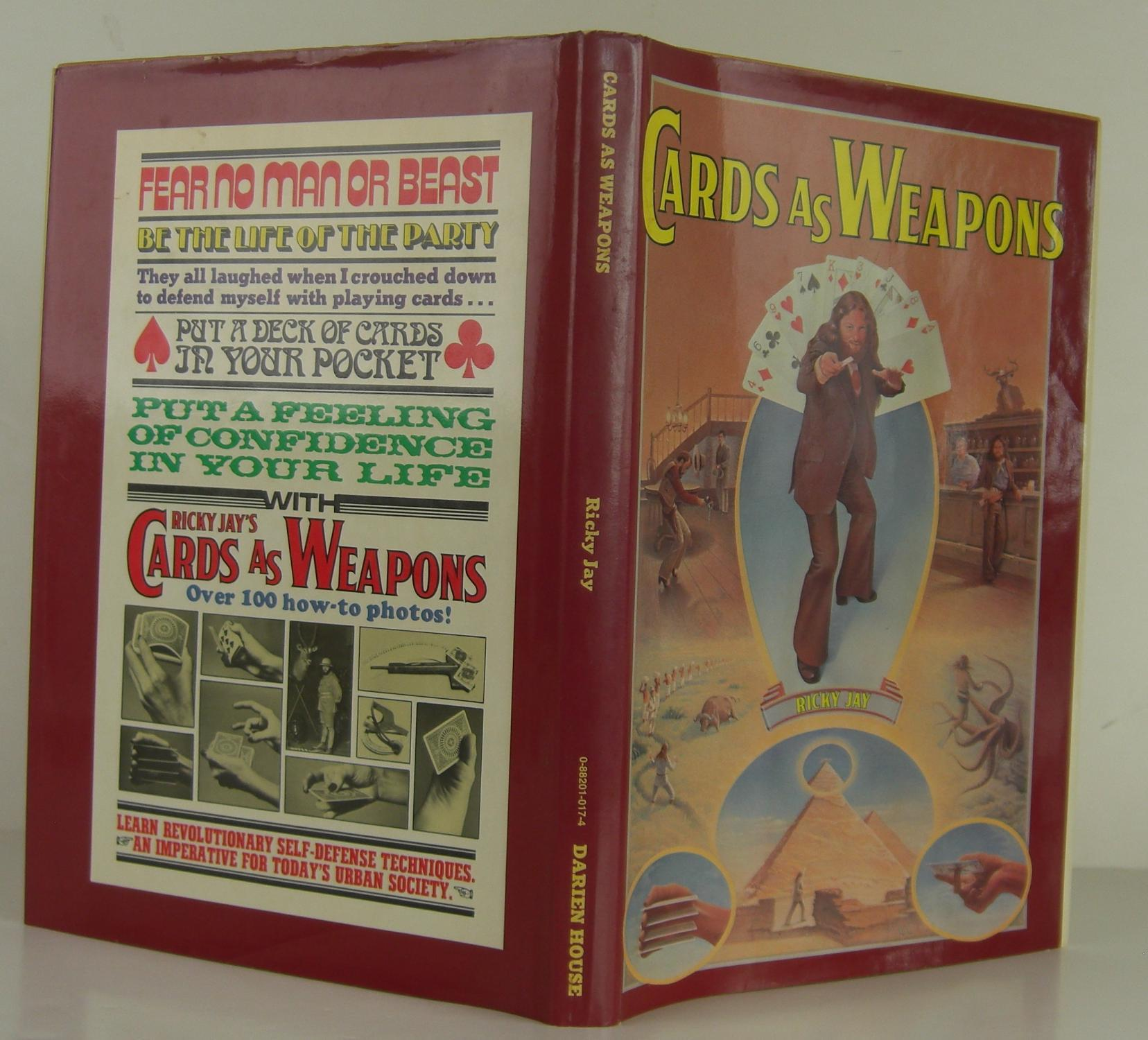 Cards as Weapons Jay, Ricky Fine Hardcover
