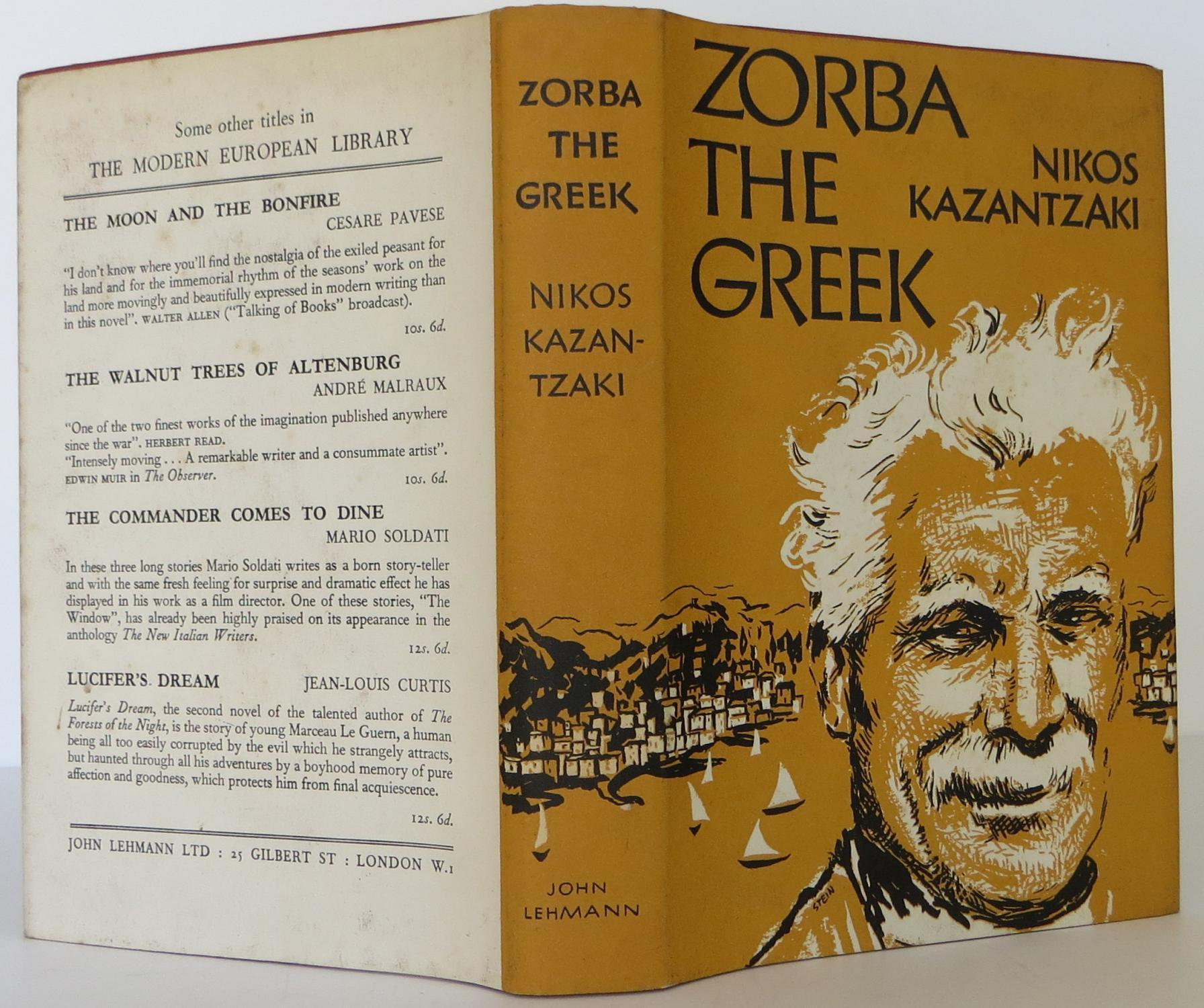 Zorba the Greek Kazantzaki, Nikos