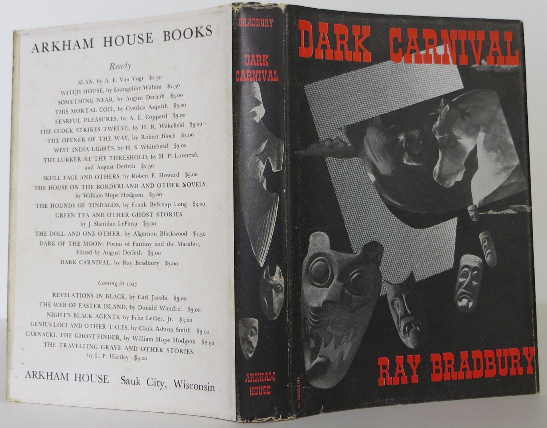 Dark Carnival Bradbury, Ray