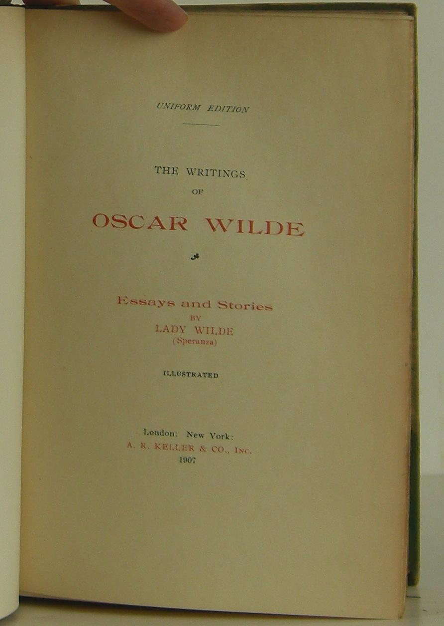 the misunderstood legacy of oscar wilde essay This ebook contains all of oscar wilde's and short stories, the poems, all of his essays artist is an allegory of the misunderstood.