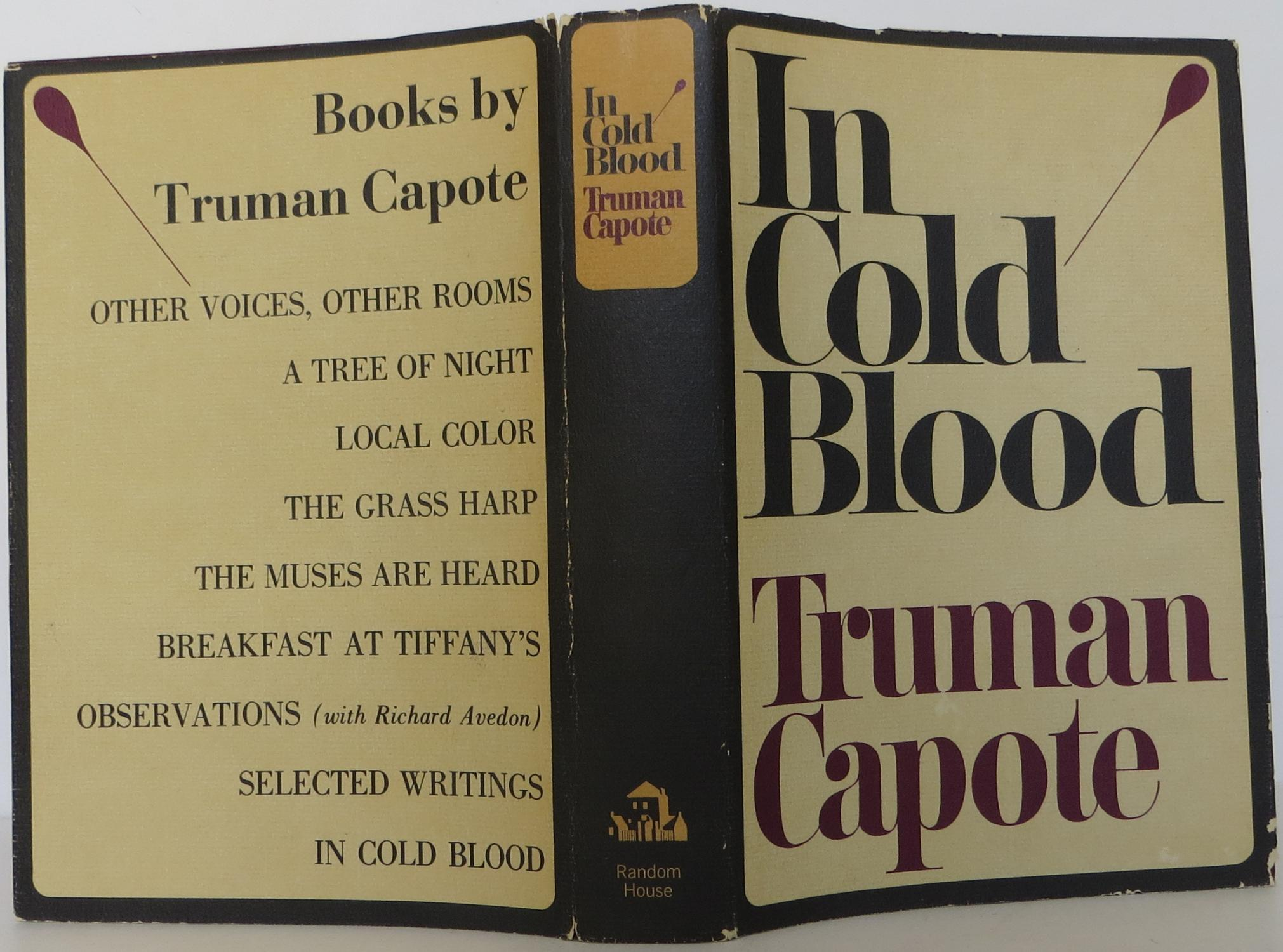 truman capotes in cold blood essay Everything you need to know about the tone of truman capote's in cold blood, written by experts with you in mind.