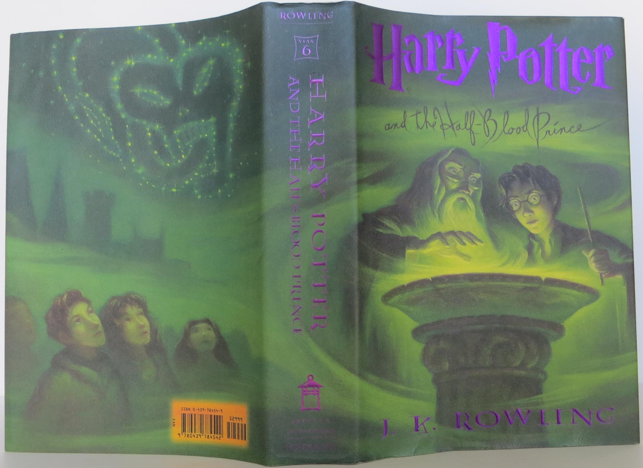 harry potter and the halfblood prince book 6 by rowling