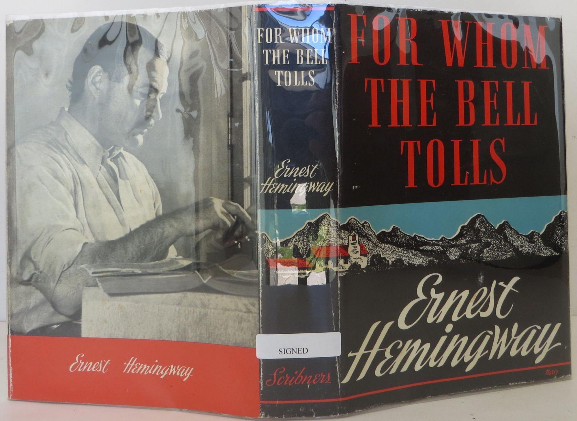 a review of the novel for whom the bell tolls by ernest hemingway Synopsis in 1937 ernest hemingway traveled to spain to cover the civil war there for the north american newspaper alliance three years later he completed the greatest novel to emerge from the good fight, for whom the bell tolls.