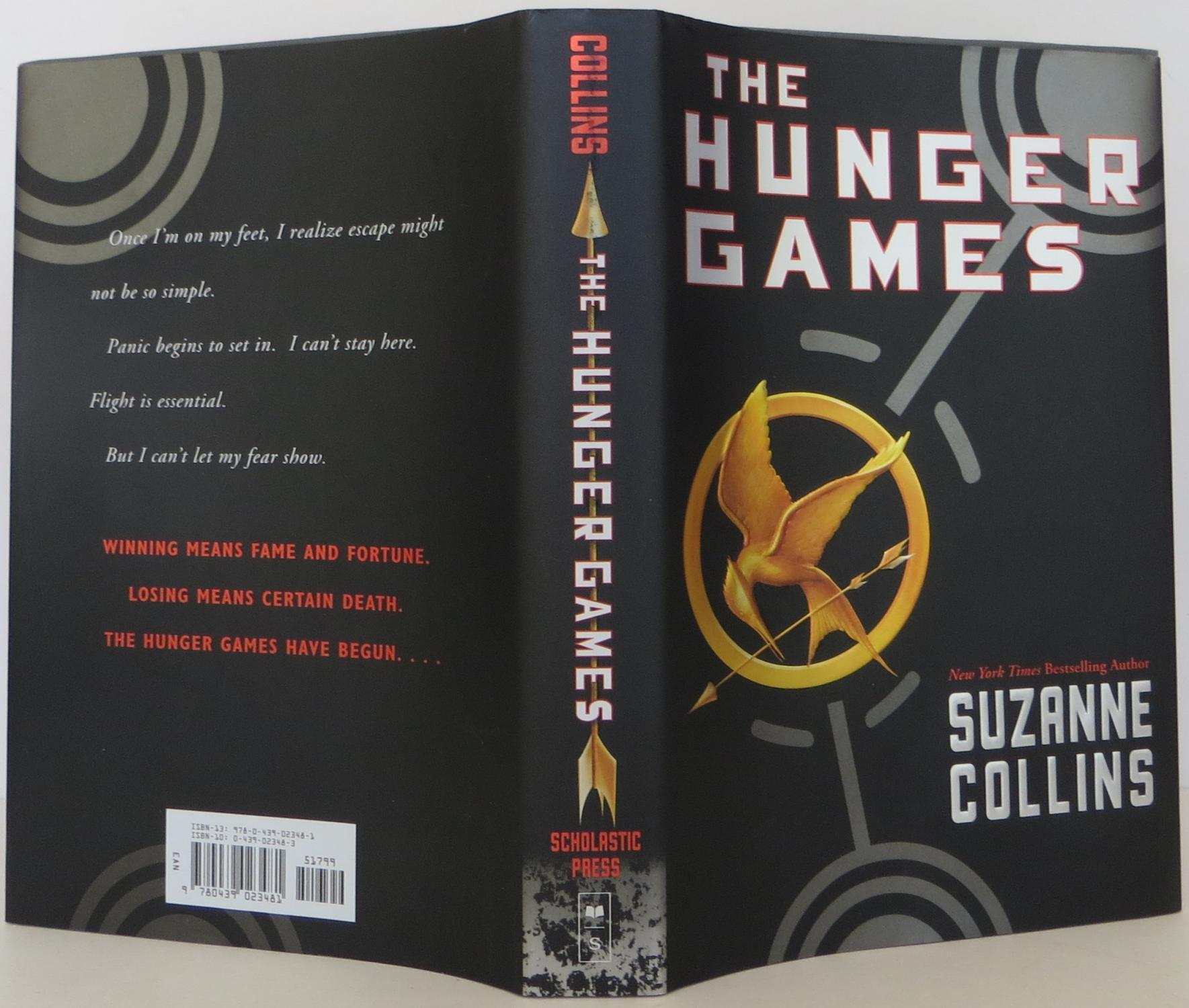 beginning of hunger games book