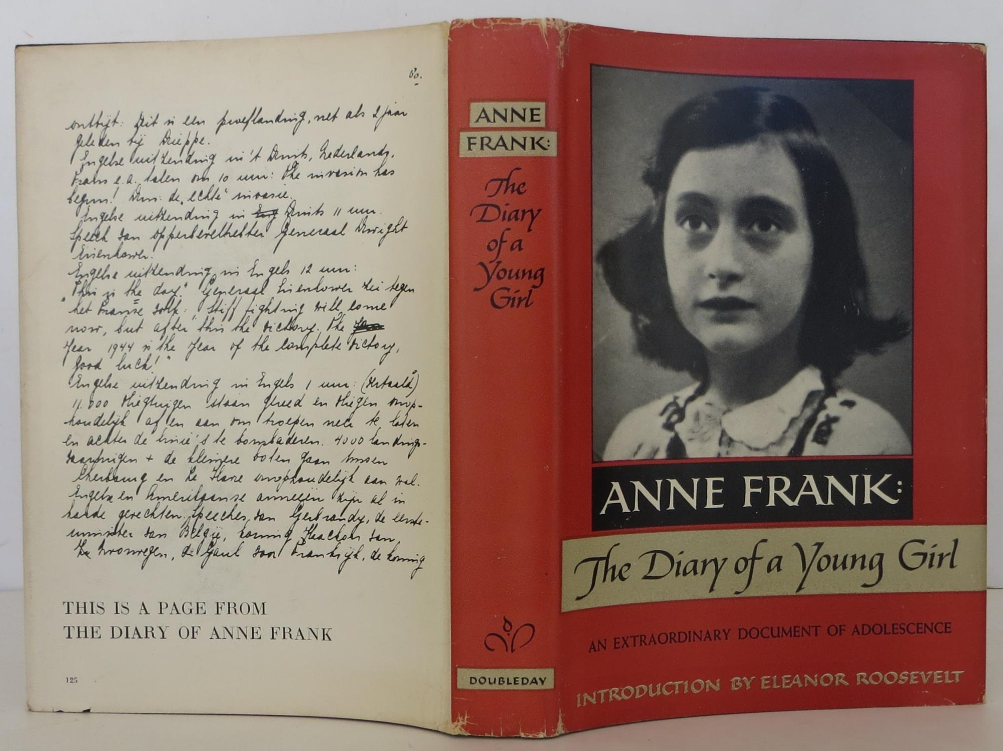 anne frank diary essays Suggested essay topics and project ideas for anne frank: the diary of a young girl part of a detailed lesson plan by bookragscom.