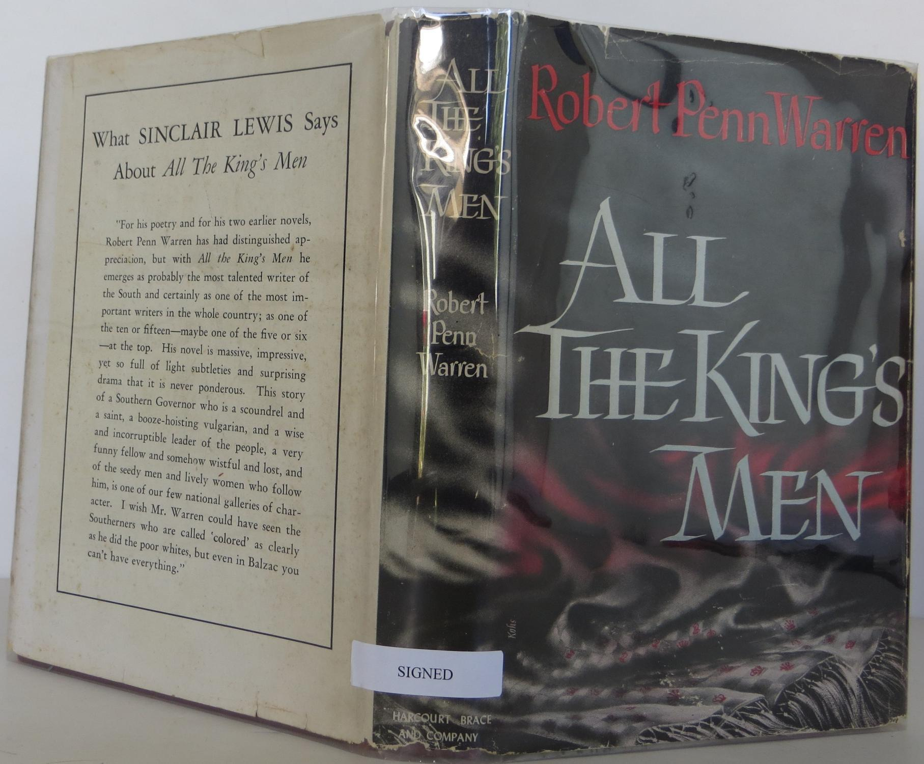 major character analysis in all the kings men by robern penn warren All the king's men is a political novel—a novel about the nuts-and-bolts of how politics gets done for stark and other characters, politics are inseparable from the use of influence and power to achieve one's ends.