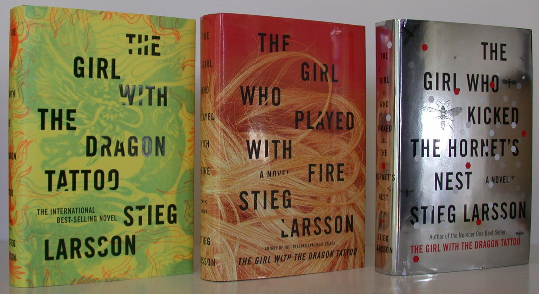 The Girl with the Dragon Tattoo Trilogy Larsson, Stieg