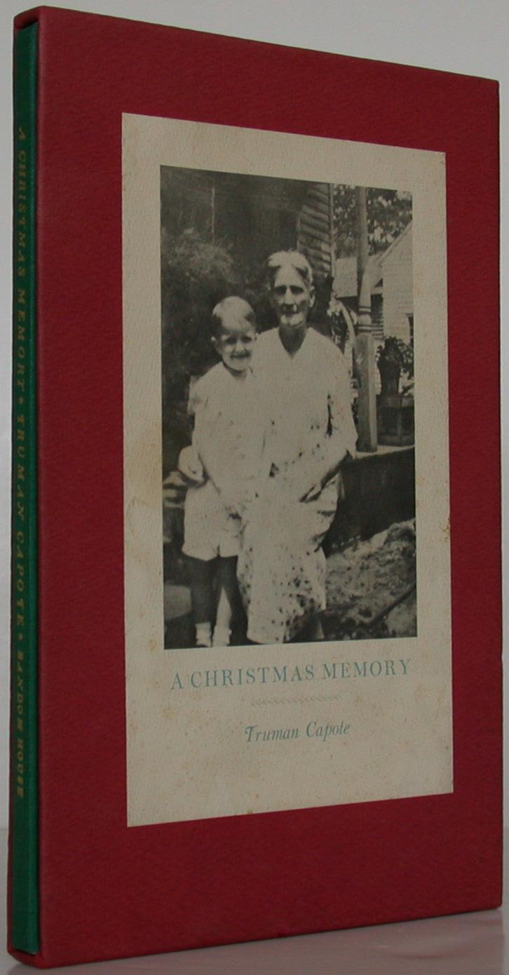 A Christmas Memory Capote, Truman Fine Hardcover New York: Random House, [1966]. First edition, first printing. One of 600 specially bound and numbered copies, SIGNED by the author. Fine in gilt-titl