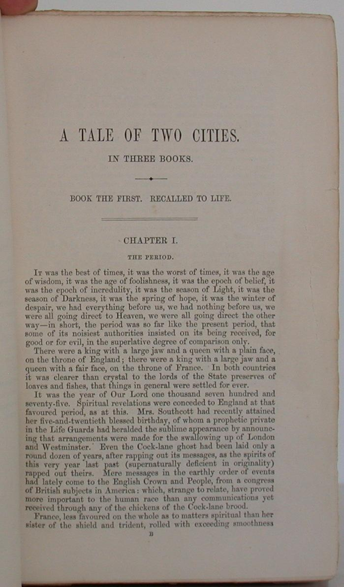 tale of two cities book 1 Lesson 1: if dickens were a speech writer: an introduction to a tale of two cities lesson 2: tackling dickens's style: a tale of two cities book one analysis (day 1 of 2) .