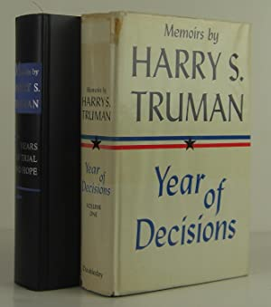 Memoirs (2 Volumes): Year of Decisions and: Truman, Harry S.