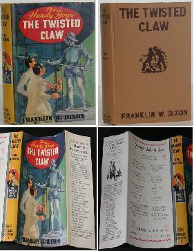 Hardy Boys: The Twisted Claw: Franklin W. Dixon