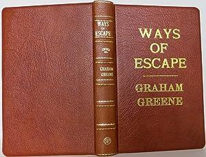 Ways of Escape: Greene, Graham