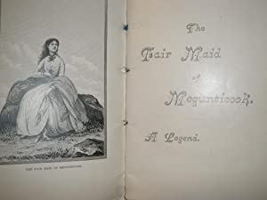 THE FAIR MAID OF MEGUNTICOOK. A LEGEND (Camden, ME): Cleveland, Geo.