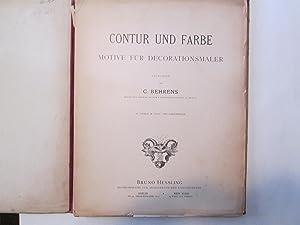 CONTUR UND FARBE MOTIV FUR DECORATIONSMALE(incomplete): Behrens, C.