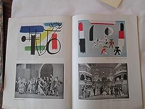 S.HUROK PRESENTS BALLETS RUSSES DE MONTE CARLO 1934 (with ephemera)