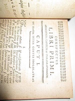 DE CULTIBUS MAGICIS BORUMQUE PERPETUO AD ECCLESIAM ET REPUBLICAM HABITU. LIBRI DUO.: Constantini ...