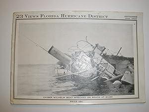 23 VIEWS FLORIDA HURRICANE DISTRICT, SEPT. 18TH, 1926