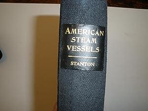 AMEERICAN STEAM VESSELS: Stanton, Samuel