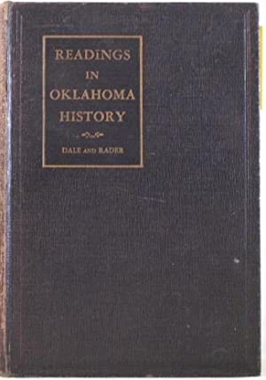 Readings in Oklahoma History: Edward Everett Dale