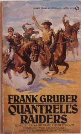 Image result for Frank Gruber   quantrill raiders