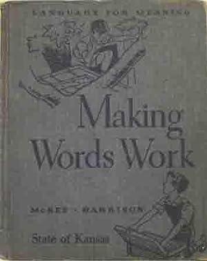 Making Words Work: Paul McKee and