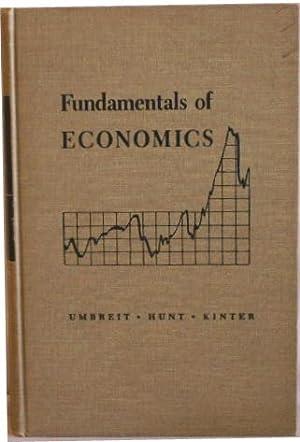 Fundamentals of Economics: Umbreit, Myron H.