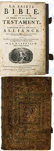 Biblia gallica) La Sainte Bible, qui contient: J. F. Ostervald: