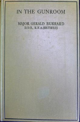 In The Gunroom: BURRARD Major Gerald