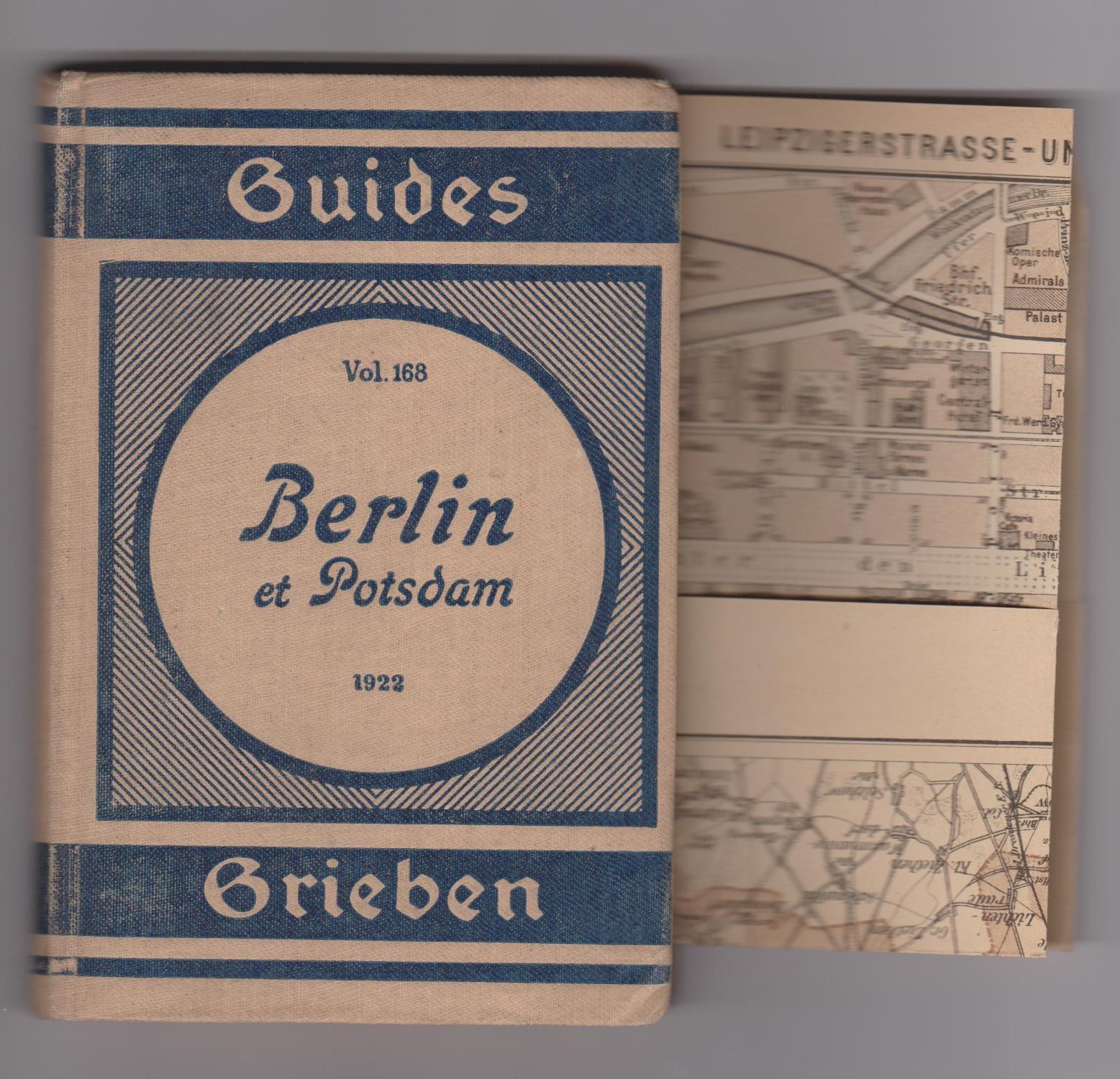 Berlin Et Potsdam 1922 Guide Pratique 2eme Edition Avec 8 Cartes Et 7 Plans Par Guides Grieben Bon Couverture Rigide 1922 Librairie Herve Sciardet