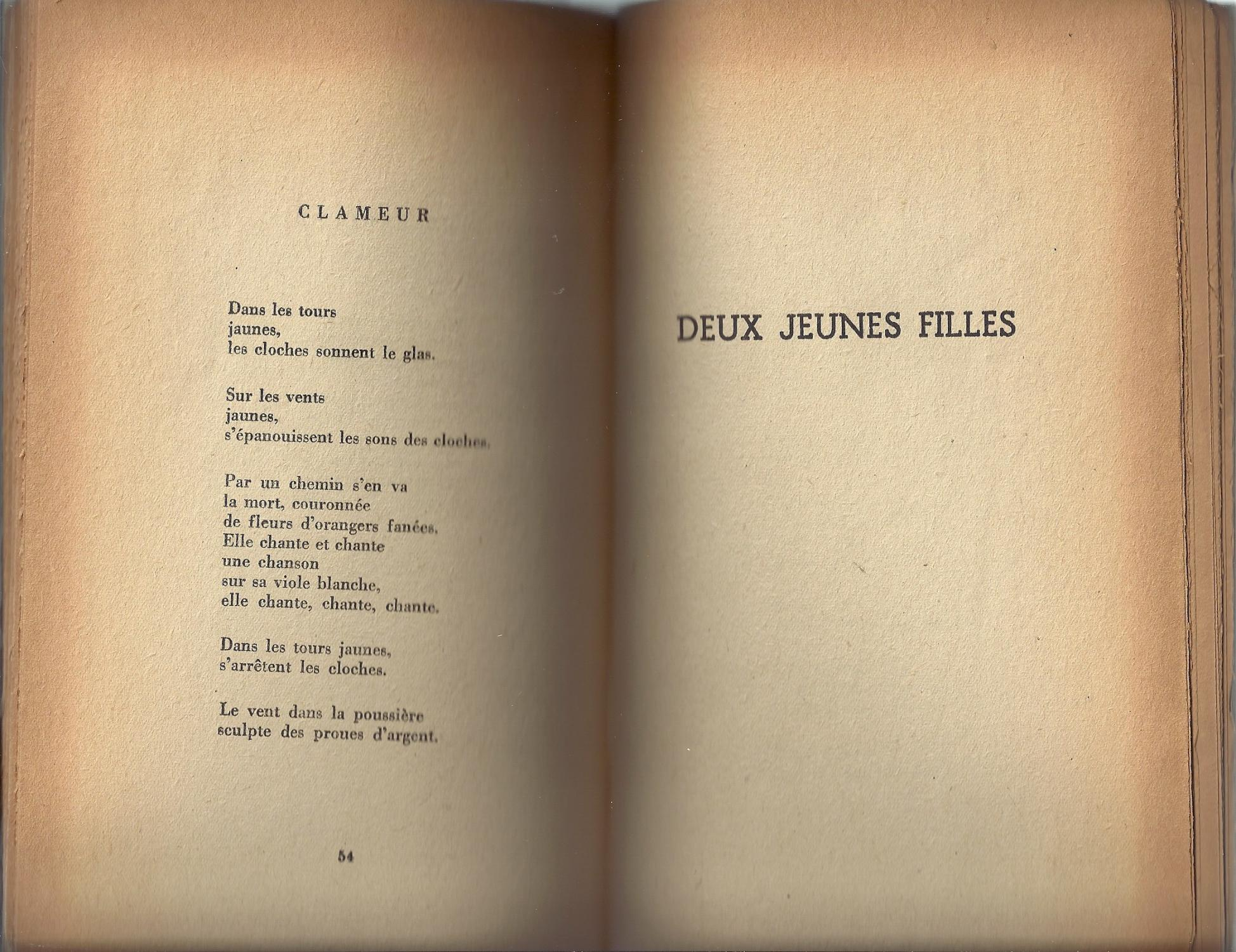 Poeme Du Cante Jondo