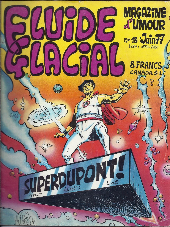 Favori FLUIDE GLACIAL, Magazine d'umour N°13 - SUPERDUPONT ! Juin 1977  CA43