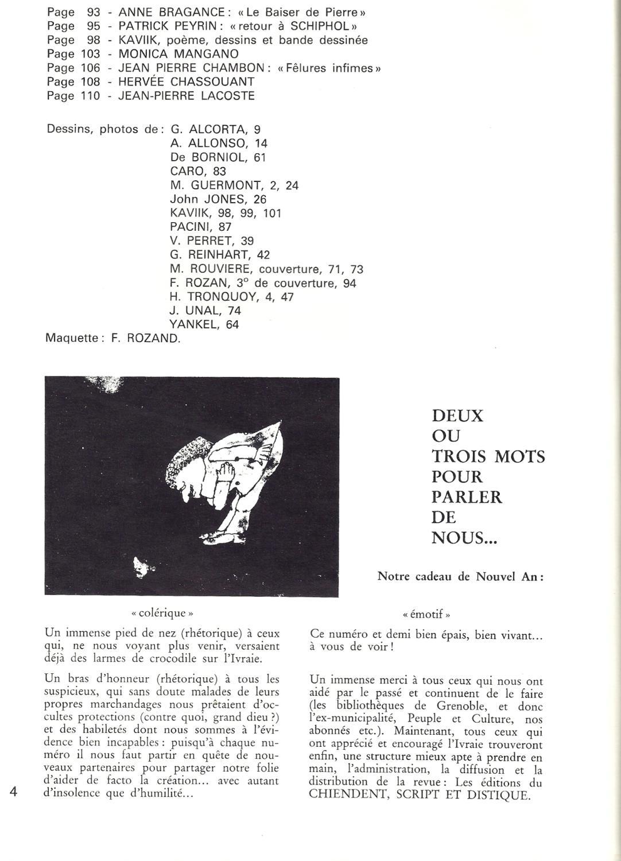 Livraie 4 12 Spécial Revue De Création